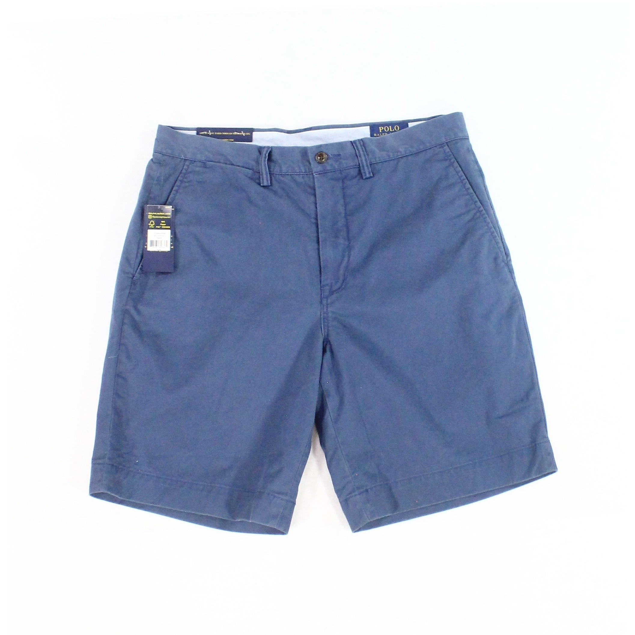 4d0fba10b4 Shop Polo Ralph Lauren Blue Mens 36 Classic Fit Stretch Chinos Shorts -  Free Shipping Today - Overstock - 28017197