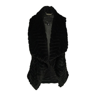 Jou Jou Women's 100% Vegan Fur Vest