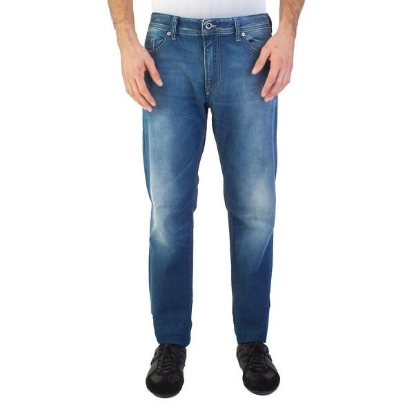 327f9df5 Shop Diesel Men's Slim-Skinny Fit Thommer 084CV Jean Pants Blue ...
