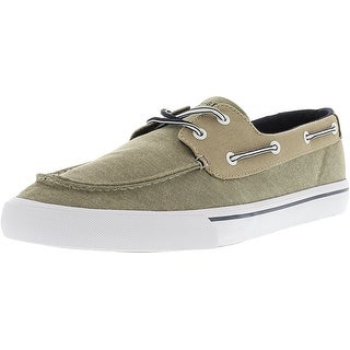 Tommy Hilfiger Mens Pharis Fabric Closed Toe Boat Shoes