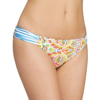 Profile Blush by Gottex Womens Printed Low-Rise Swim Bottom Separates
