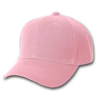 Plain Pink Adjustable Hat