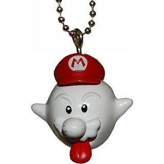 "Super Mario Galaxy 2 1.5"" Character Keychain: Zombie Ghost Mario - Multi"