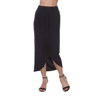 Link to Wrap Midi Skirt - Black Similar Items in Skirts