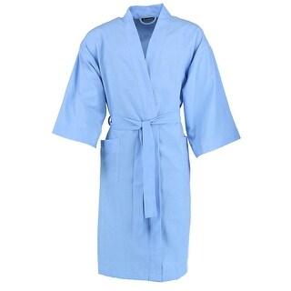Leisureland Men's Broadcloth Robe