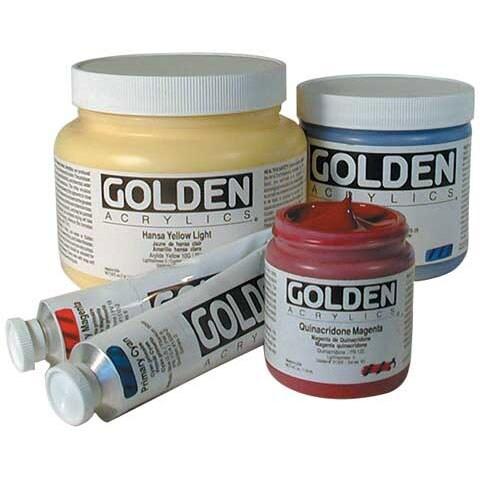 Golden - Heavy Body Acrylic - 2 oz. Tube - Cadmium Orange