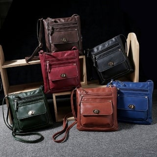 Link to Crossbody Buckle Messenger Bag Similar Items in Shop By Style