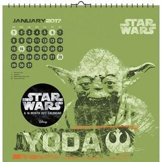 "Star Wars Saga Art 2017 12""x12"" Wall Calendar - multi"