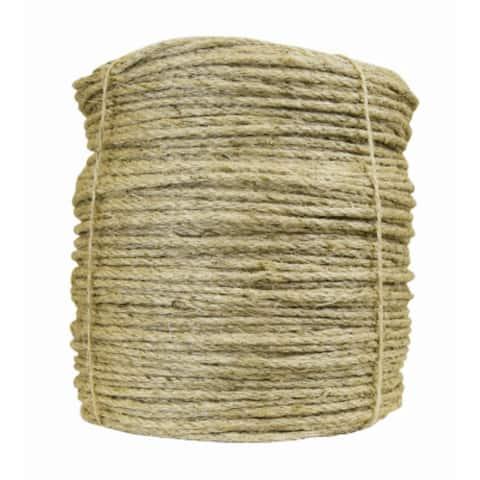 "Wellington M1016D1500 Natural Fiber Twisted Sisal Rope, 1/4"" x 1500'"