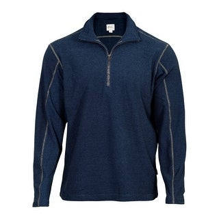 Rocky Outdoor Shirt Mens Long Sleeve Zip SilentHunter Navy