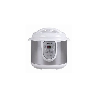 Nesco PC6-14 1000 Watt 4 in 1 Digital Pressure Cooker - 6 Quart