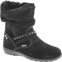 Primigi Girls 8571 Gore Tex Waterproof Winter Fashion Boots - scamosciato nero