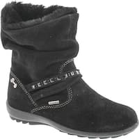 Primigi Girls 8571 Gore Tex Waterproof Winter Fashion Boots - scamosciato nero