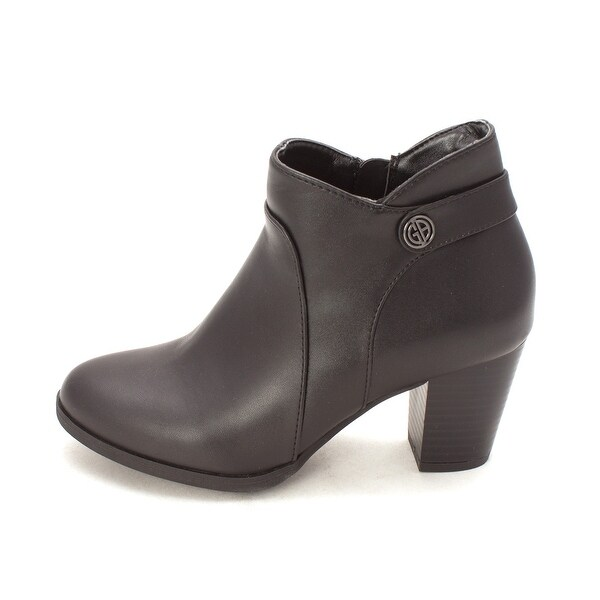 Giani Bernini Womens Abalina Almond Toe Ankle Fashion Boots