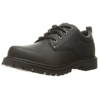Skechers USA Men's Tom Cat Utility Shoe,Black