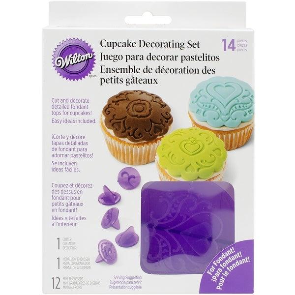 Cupcake Decorating Set-Hearts