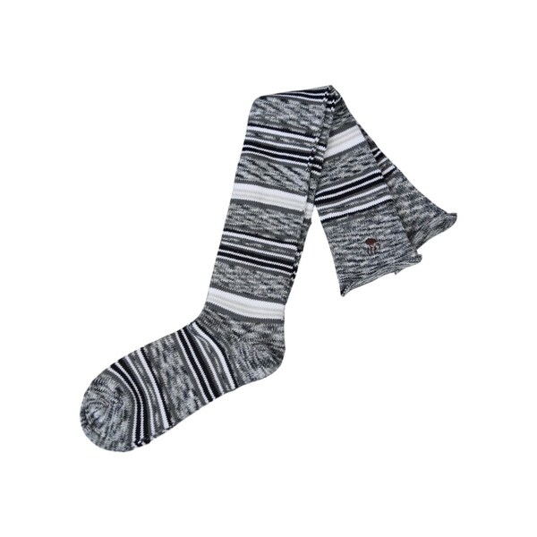 Bearpaw Fashion Socks Women Space Dye Over The Knee Roll Top - One size