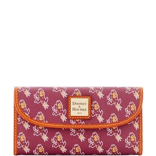 Dooney & Bourke NCAA Arizona State Continental Clutch (Introduced by Dooney & Bourke at $128 in Jul 2015)