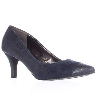 KS35 Gladdys Pointed Toe Pumps - Navy