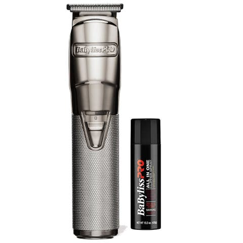 BaBylissPRO SILVERFX Trimmer FX788S with Clipper Spray
