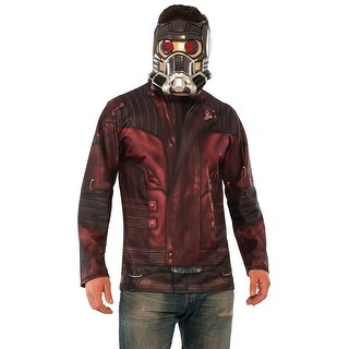 Guardians of the Galaxy Vol .2 Star-Lord Adult Costume Top - Red