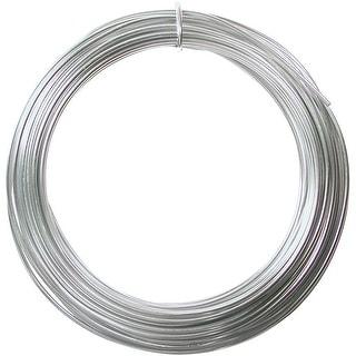 Aluminum Wire 12 Gauge 39' Coil-Silver