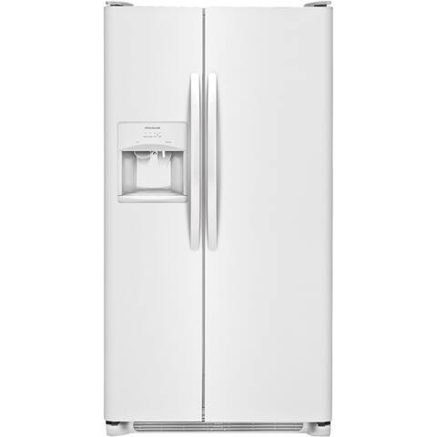 Frigidaire FFSS2615TP 25.5 Cu. Ft. Side-by-Side Refrigerator - White
