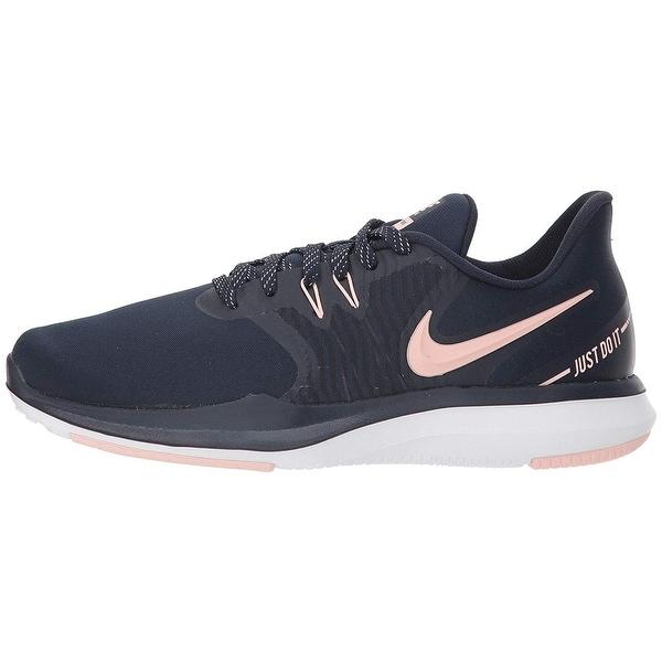 b290372ab57fb Shop Nike Women s In-Season Tr 8 Training Shoe Obsidian Storm Pink ...