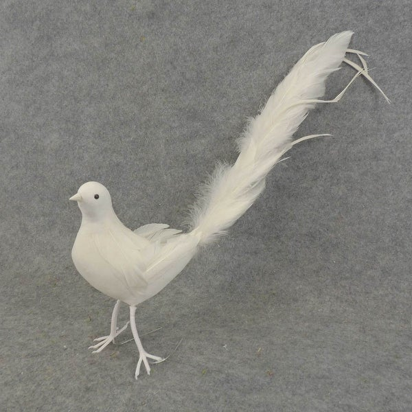 1 Pc 18 Inch Colored Long Tail Dove For Party Home Holiday
