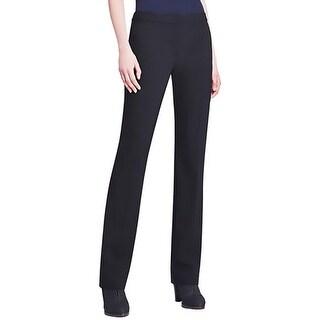 Elie Tahari Womens Jenny Dress Pants Wool Solid