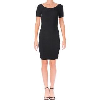 Short Sleeve Bebe Dresses Find Great Women S Clothing Deals