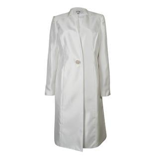 Le Suit Women's Rose Garden Dupioni Skirt Suit - 6
