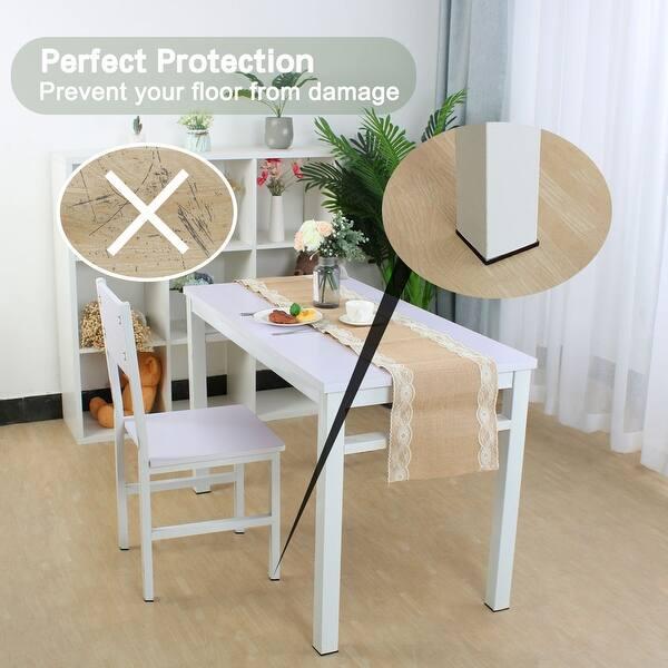 Shop Felt Furniture Pads Square 3 4 Self Adhesive Anti Scratch