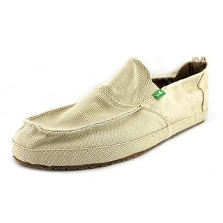 Sanuk Commodore Round Toe Canvas Loafer