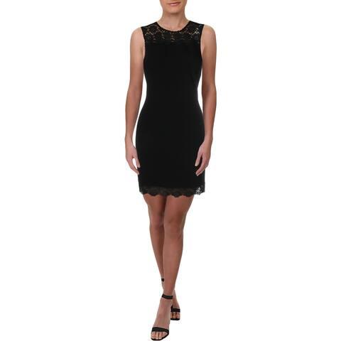 Karl Lagerfeld Womens Wear to Work Dress Sleeveless Office - Black