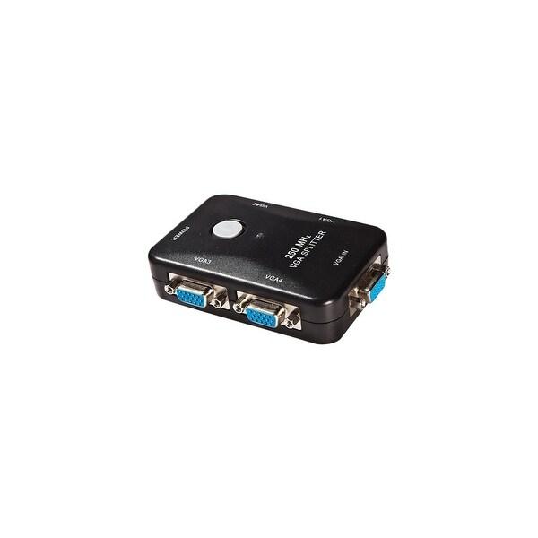 4XEM 4XVGASP2504 4XEM 4-Port VGA Splitter 250 MHz - 250 MHz to 250 MHz