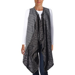 Sanctuary Womens Wool Blend Knit Sweater Vest - S