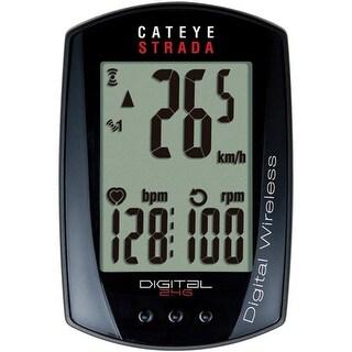 CatEye Strada Digital Wireless Cycling Computer w/ Speed/Cadence/HR - CC-RD430DW