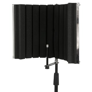 LyxPro VRI-30 Portable Foldable Sound Absorbing Recording Panel Stand Mount
