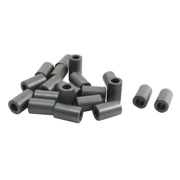 Unique Bargains 6.6mm x 12mm x 20mm Noise Suppressor Cylindrical Ferrite Core 20 Pcs