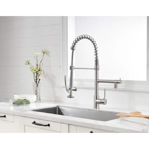 LED Pull Down Rotating Faucet