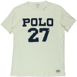 Polo Ralph Lauren Mens Cotton Distressed T-Shirt