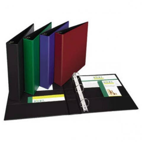 """Avery 11358 Durable View Binder, 1.5"""", Assorted Color"""