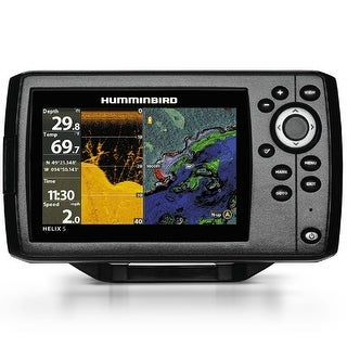 "Humminbird Helix 5 Chirp DI G2 Internal GPS Combo 5"" Color Fishing System w/ Transducer"