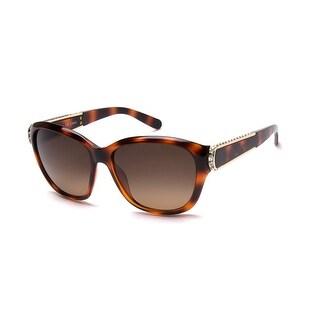 Chloe Women's Cat Eye Inspired Sunglasses Havana - Small