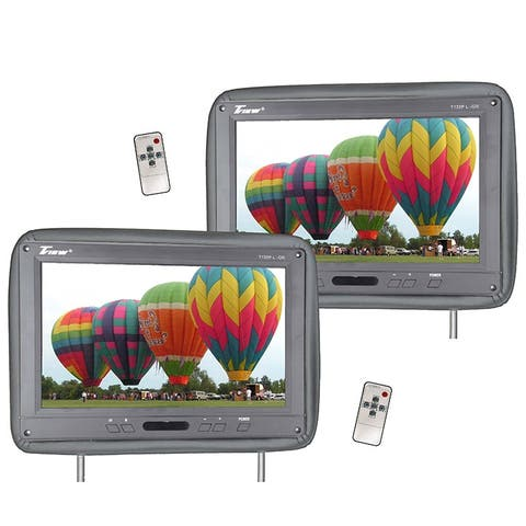 Tview t122pl-gr tview 12.1 headrest monitor ir transmitter remotes gray pair