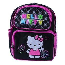 """Hello Kitty Officially Licensed Embroidered 12"""" Backpack"""