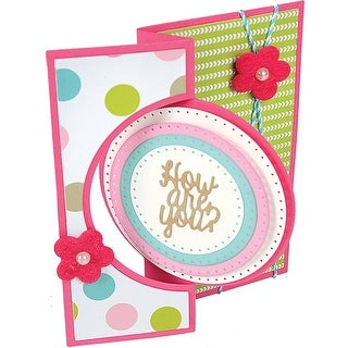 Sizzix Framelits Dies By Stephanie Barnard 8/Pkg-Circles Dotted