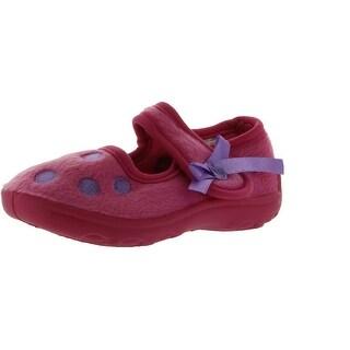 Ragg Girls Polly Slippers - Fuchsia/Pink - 5 m us toddler
