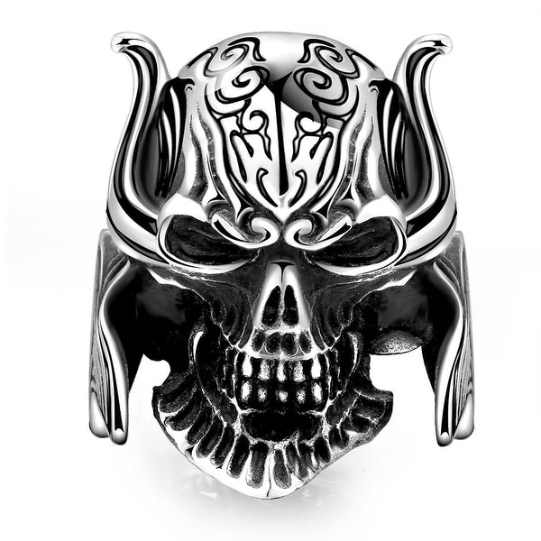 Vienna Jewelry The King's Warrior Stainless Steel Ring